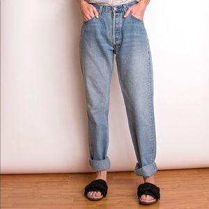 Vintage 90s Levi's 501 high waist mom jeans